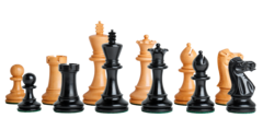 Grandmaster Series Chess Set in Ebonized Boxwood - 4