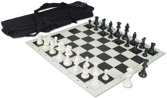 Deluxe Chess Set Combo (Black)