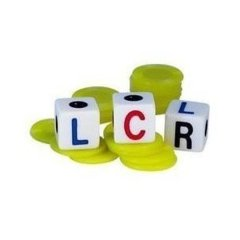 LCR/Left Center Right Dice Game