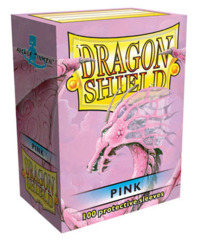 Dragon Shield Box of 100 in Pink