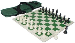 Deluxe Chess Set Combo (Green)