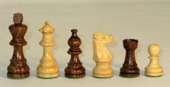 French Lardy Chess Set in Sheesham - 3