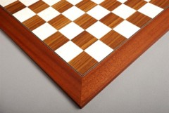 Rosewood & Bird's Eye Maple Chessboard