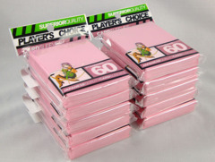 Player's Choice Standard Pink Sleeves (10 pks)