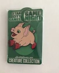 Pigglet Pin Star City Games game night