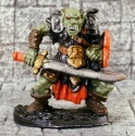 Orc Warrior with Scimitar Reaper - Legendary Encounters