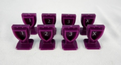 Order Markers - Purple (8)