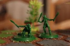 Elven Path Wardens squad (2 figs)  Unpainted