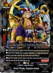 D-CBT/0017EN - RR - Great Pirate, Captain Kaido