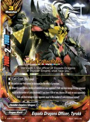 X-BT01/0009EN - RR - Espada Dragons Officer, Tyrakk