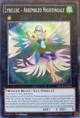 MACR-EN043 - Super Rare - 1st Edition - Lyrilusc - Assembled Nightingale