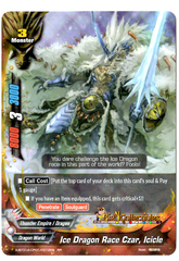 X-BT01A-CP01/0012EN - RR - Ice Dragon Race Czar, Icicle