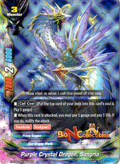 X-BT02/0018EN - RR - Purple Crystal Dragon, Sangria