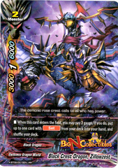 X-BT02/0015EN - RR - Black Crest Dragon, Zillowzest