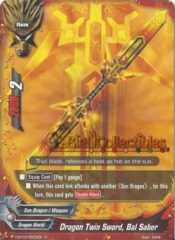 D-BT03/0025EN - R - Dragon Twin Sword, Bal Saber
