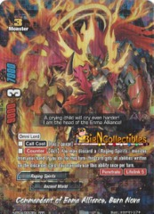 Commandant of Enma Alliance, Burn Nova - H-EB04/0063EN - RRR