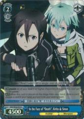 FOIL - SAO/SE26-E33 - C - In the Face of Death, Kirito & Sinon