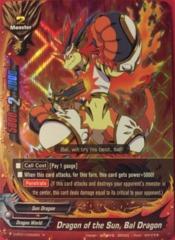D-BT01/0022EN - R FOIL - Dragon of the Sun, Bal Dragon