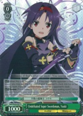 FOIL - SAO/SE26-E07 - R - Undefeated Super Swordsman, Yuuki