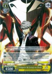 P4/EN-S01-003 R Protagonist and Izanagi-no-Okami