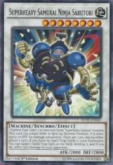 INOV-EN042 - Superheavy Samurai Ninja Sarutobi -Rare - 1st Edition