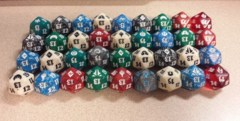 Assorted Spindown D20
