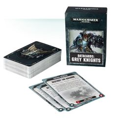 Grey Knights - Datacards: Grey Knights (57-20-60)