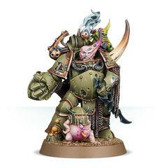 Chaos Space Marines - Death Guard Plague Marine Champion (43-48)