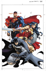 Justice League Rebirth #1 (Variant Edition)