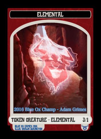 Elemental Token - June / July / August 2016