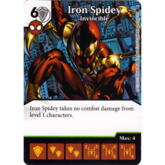 Iron Spidey - Armored Arachnid (Die & Card Combo)