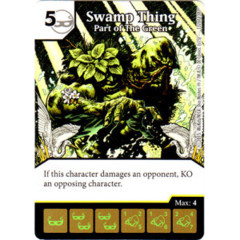 Swamp Thing - Part of the Green (Die & Card Combo Combo)