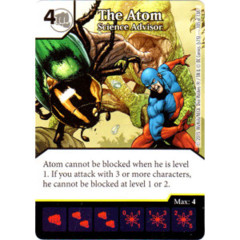 The Atom - Science Advisor (Die & Card Combo Combo)