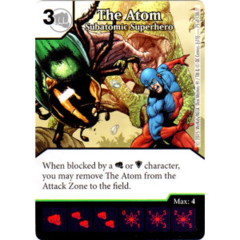 The Atom - Subatomic Superhero (Die & Card Combo Combo)