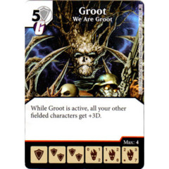 Groot - We Are Groot (Die & Card Combo)
