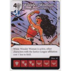 Wonder Woman - Champion of Themyscira (Die & Card Combo Combo)
