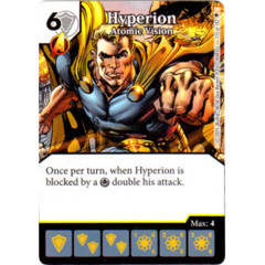 Hyperion - Atomic Vision (Die & Card Combo)