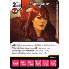 Mary Jane - MJ (Die & Card Combo)