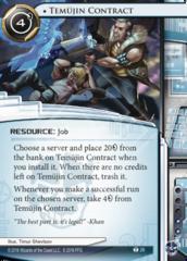 Temujin Contract