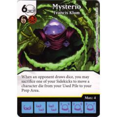 Mysterio - Francis Klum (Die & Card Combo)