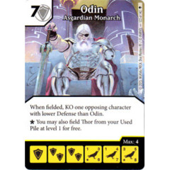 Odin - Asgardian Monarch (Die & Card Combo)