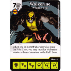 Wolverine - Weapon Plus (Die & Card Combo)