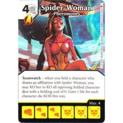 Spider-Woman - Pheromones (Die & Card Combo)