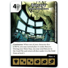 Batcave - Home Sweet Cave (Die & Card Combo)