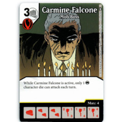 Carmine Falcone - Mob Boss (Die & Card Combo)