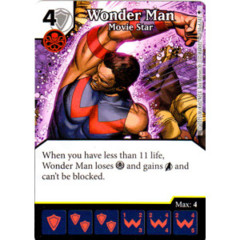 Wonder Man - Movie Star (Die & Card Combo)