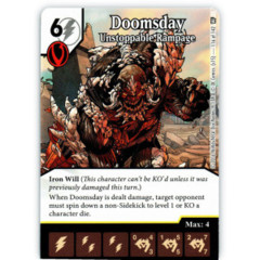 Doomsday - Unstoppable Rampage (Die & Card Combo)