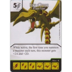 Curse of Dragon - Dragon Flame (Die & Card Combo)