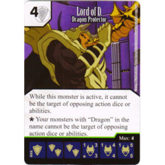 Lord of D. - Dragon Protector (Die & Card Combo)