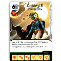 Supergirl - Invulnerable (Die & Card Combo)
